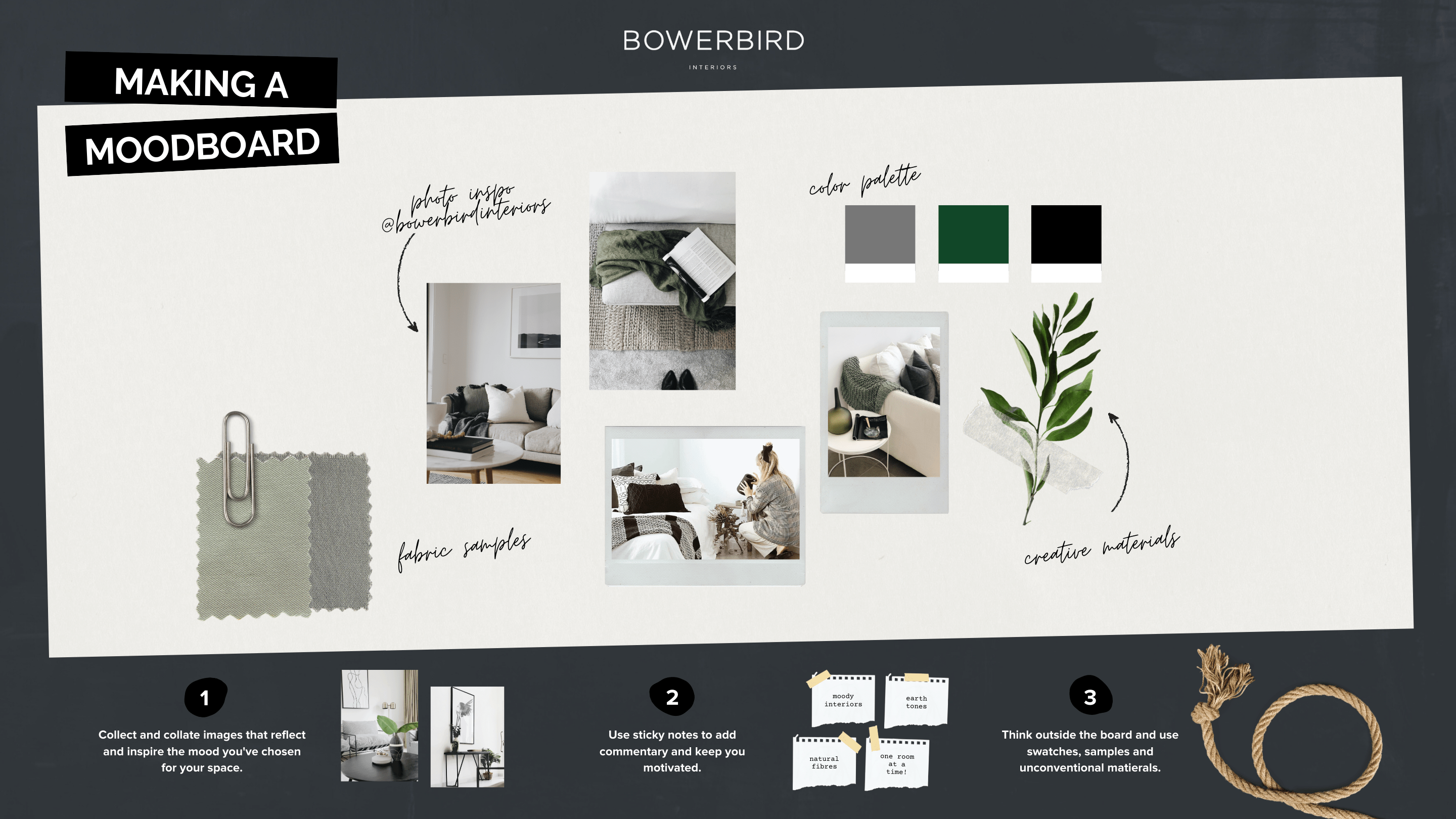 Get a sneak peek at our online interiors course | BOWERBIRD Interiors